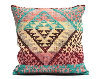 Sale TURQUOISE Outdoor Pillows Aqua Brown Outdoor Pillow Covers Pillow  Coral Orange Pillows Yellow Indoor Pillow