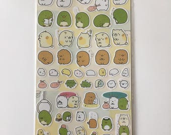 Cute Molang Rabbit Diary Stickers Decoration Stationery Label Sticker - Design 6