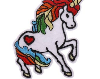 Unicorn Embroidery Patch, Unicorn Iron on Embroidery Patch VNEM042 (3 pcs)