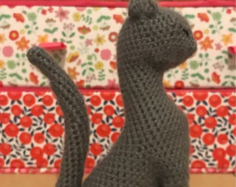 Crochet cat - gentleman cat - Sir Chester the Cat