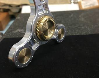 Raw vanpelt tri pple , made in USA fidget spinner
