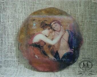 Fresco 'Bliss' romanticism sentimentalism style