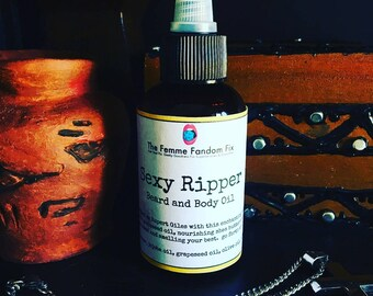 Sexy Ripper Vanilla Oak Scented Beard And Body Oil