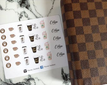Coffee Icon Stickers
