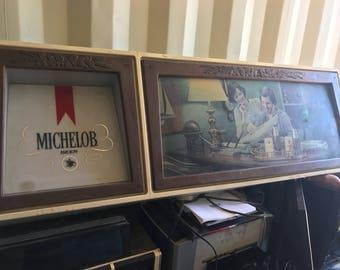 Antique Michelob beer sign