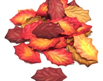 Autumn Holly Mix Mulberry Paper Leaves Leaf31