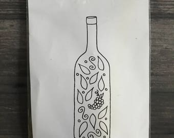 Impression Obsession Wine Bottle Stamp