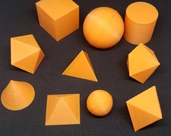 Decorative Geometric Ornaments - Polyhedron Toys - Educational