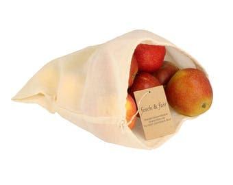 Organic cotton shopping bag