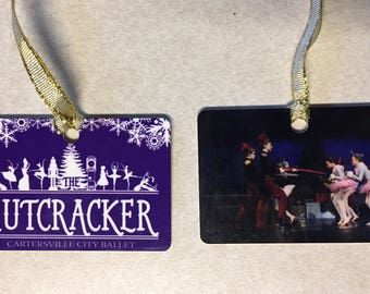 Personalized Metal Ornaments