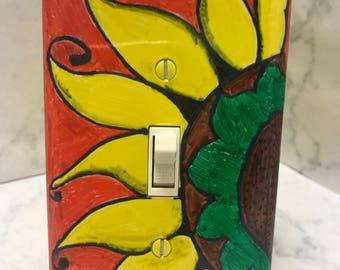 Sunflower Light Switch