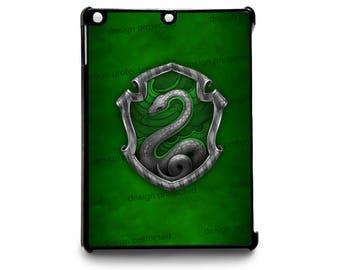 Harry Potter Slytherin House Witchcraft Hogwarts Hard Apple iPad Tablet Case Cover Models