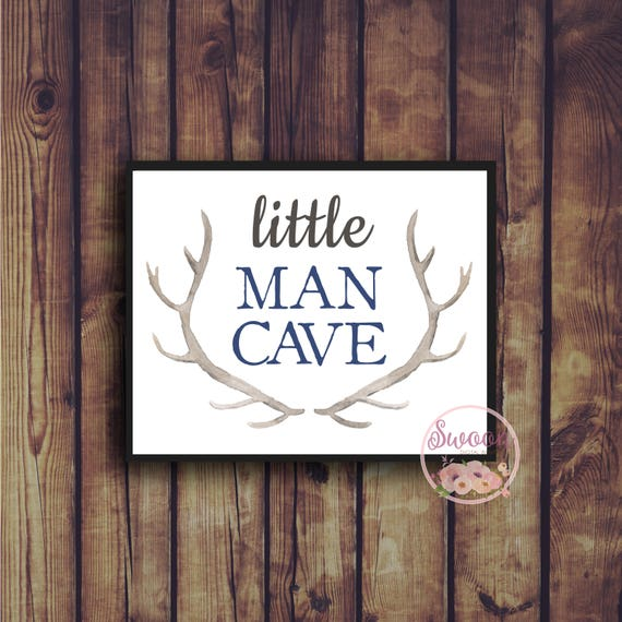 Man Cave Decor Etsy : Little man cave boy nursery decor baby