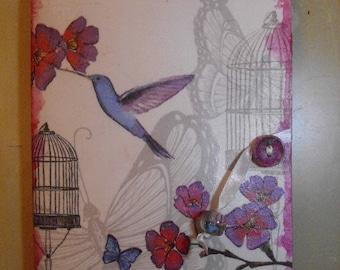 Hummingbirds Journal/Diary/Notebook/Travel Journal/FREE SHIPPING
