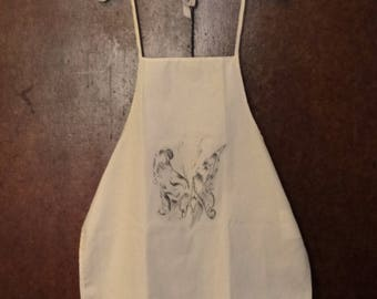 Abstract Butterfly Design Apron