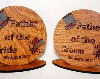 Wedding Place Setting Coasters/ Gift/favour