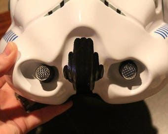 Ukswrath's Stormtrooper helmet Hovi Tips with Speakers ONLY!, 501st approved