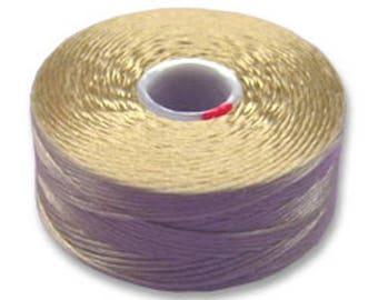 1 beige size AA C - Lon thread (diameter 0.25 mm approx)
