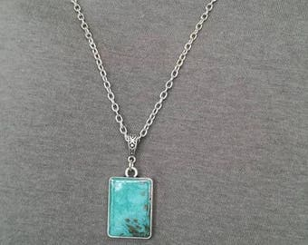 Chain necklace with Locket double sided for men