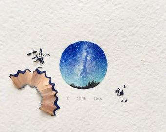 """framed """"Milky Way"""""""