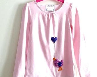 handmade long-sleeved shirt