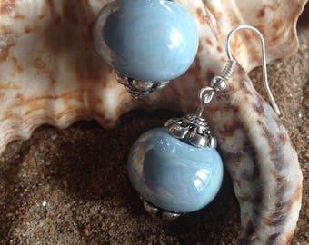"""Earrings """"beautiful pearls of China"""""""