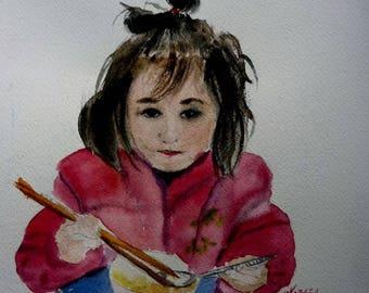 a Vietnamese girl