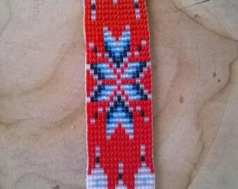 Bracelet weaving Miyuki Native American spirit