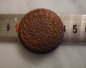 Old metal stamp shaped cabochon
