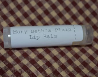 Plain Lip Balm