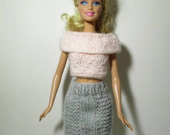Barbie, Barbie top and skirt set clothing
