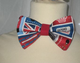 "Bow tie cotton ""So british"""