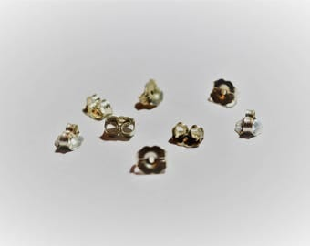 Push / strollers for earrings / stainless steel