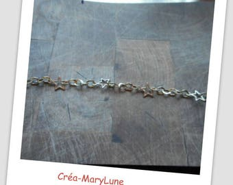 Chain and star bracelet