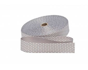 Has 30mm grey dot cotton from 50 cm