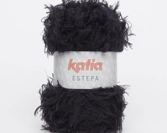 ESTEPA - 108 black Katia yarn