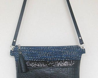 Black & Blue bag