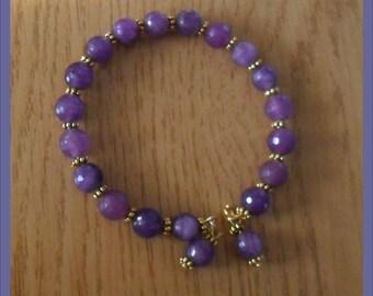 Harmonic bracelet purple