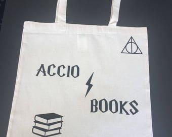 Harry Potter Tote Bag - Accio Books
