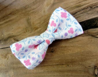 Hair clip bow floral sweetness
