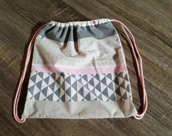 Bag for Pajamas or blanket for girl
