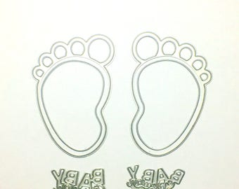 The baby feet