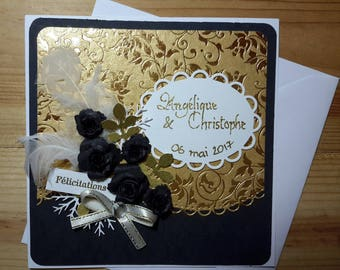To order * great for wedding congratulations card