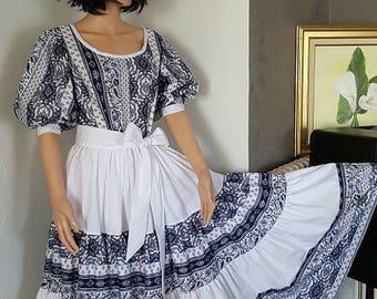 1 Provençal dress. HAND MADE