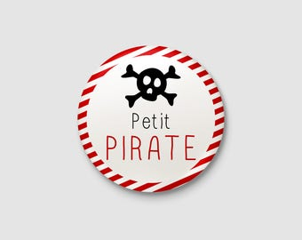 "Badge child ""Little Pirate"""