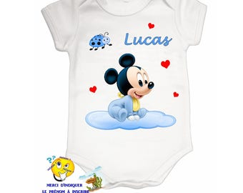 Onesie personalized with name ref 10