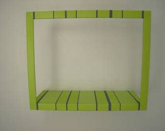 Library stripe pocket storage frame (1)