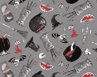 Cauldrons patchwork Oddities Alexander Henry fabric
