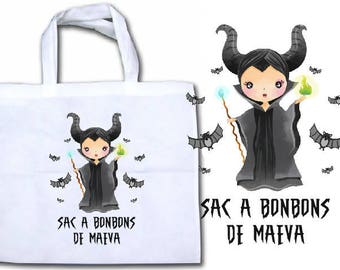 """BAG has """"MALEFICENT"""" personalized candy"""