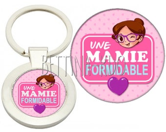 """DELUXE """"a great Grandma"""" keyring"""